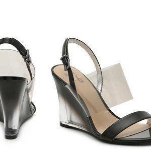 Mix No.6 Women Bryden Black Slingback Strap Heels